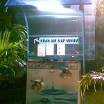 Kran Air Siap Minum Taman Mundu