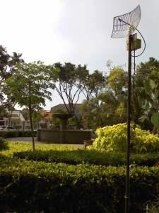 Zona Free Wifi Taman Lansia